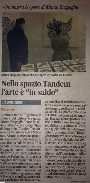 articolo bragaglia corriere adriatico
