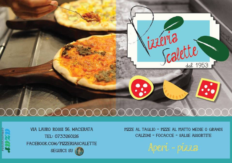 flayer pizzeria scalette fronte