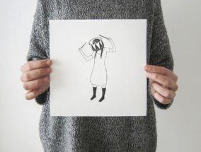 tamburo _art print